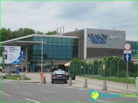 Lentokenttä Krakovassa