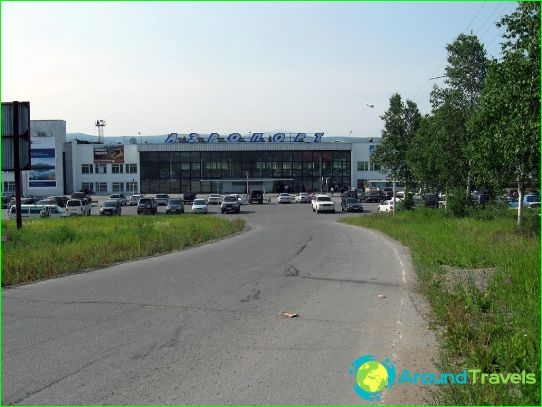 Luchthaven in Magadan