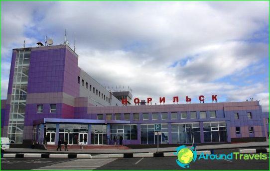 Lentokenttä Norilsk