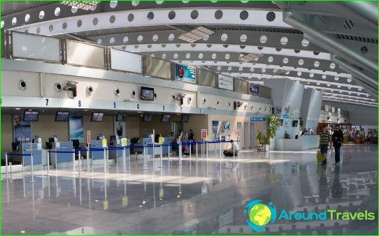Lentokenttä Podgorica
