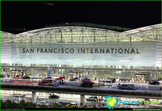 Luchthaven in San Francisco