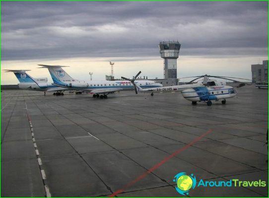 Летище в Салехард