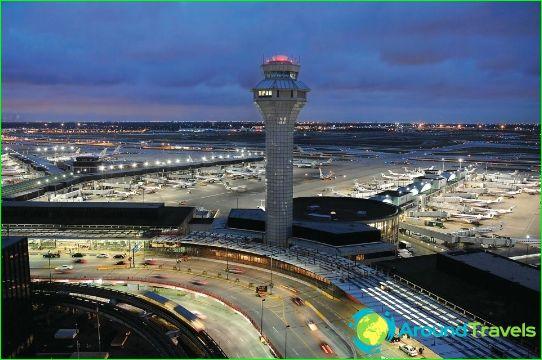 Lentokenttä Chicagossa