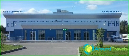 Luchthaven in Cherepovets