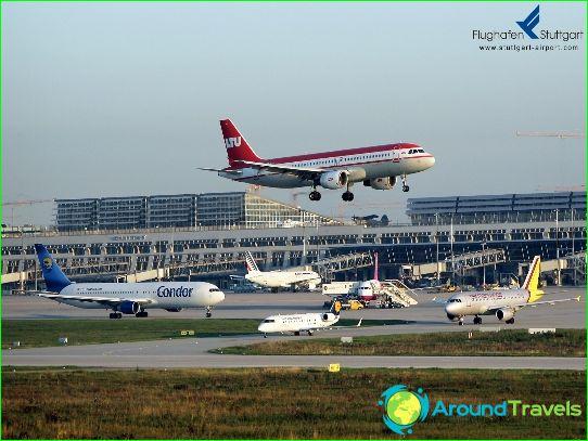 Lentokenttä Stuttgart
