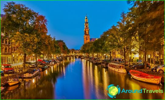 Független utazás Amszterdamba