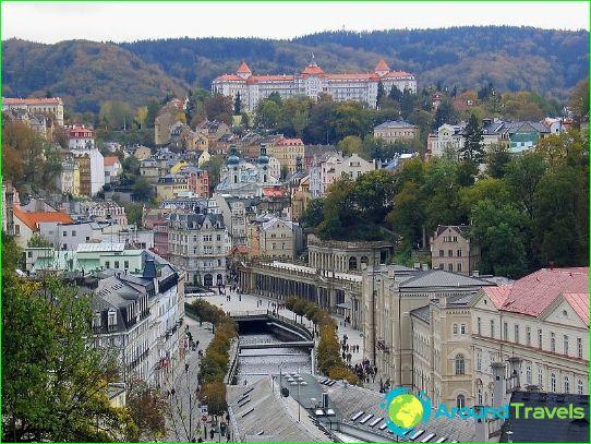 Itsenäinen matka Karlovy Varyyn