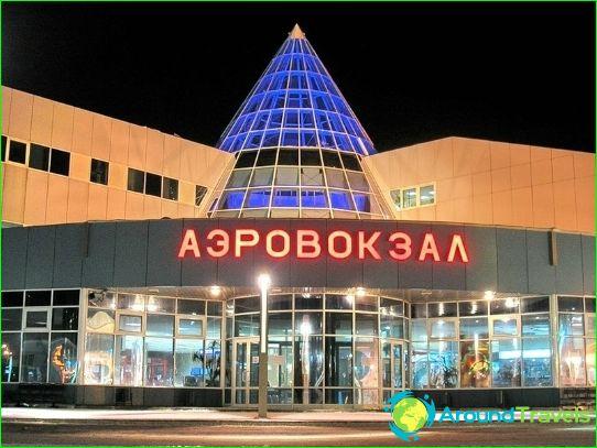 Luchthaven in Khanty-Mansiysk
