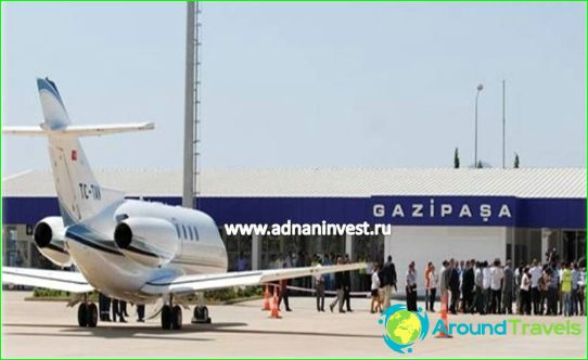 Luchthaven in Alanya
