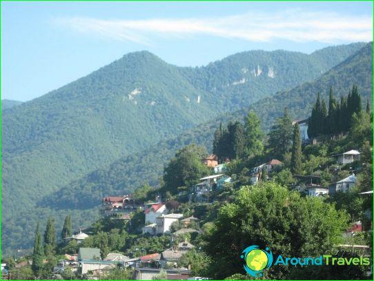 Най-добрите курорти на Абхазия