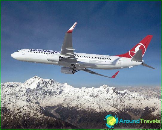 Турските авиолинии: мечтата на пътешественика в източния въздух