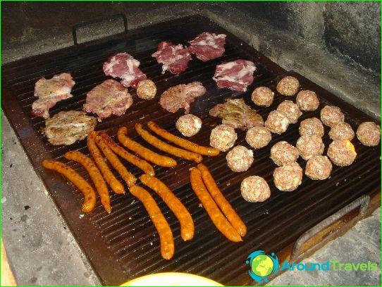 Traditionele keuken van Montenegro