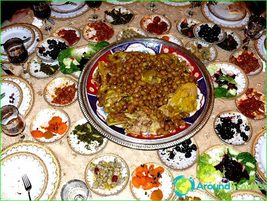 Traditionele keuken van Tunesië
