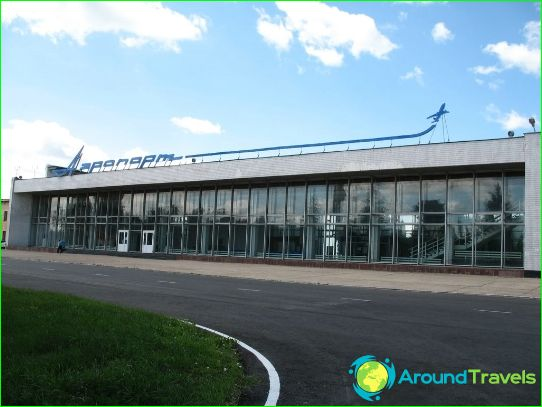 Luchthaven in Tambov