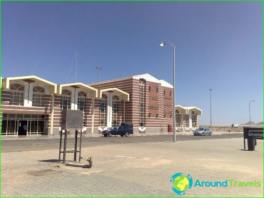 Luchthaven in Taba