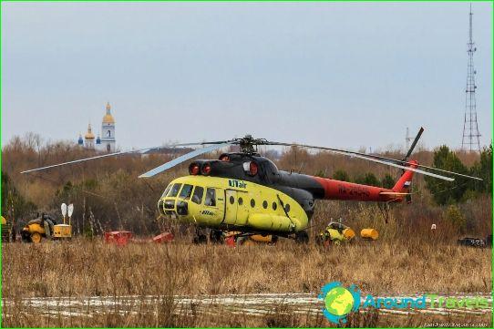 Luchthaven in Tobolsk