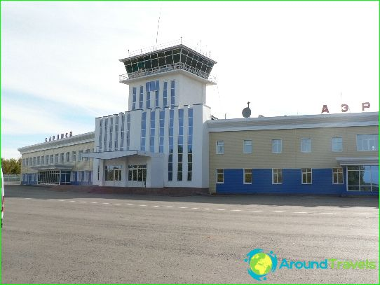 Luchthaven in Saransk