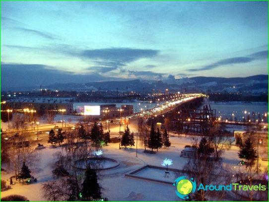 Retket Krasnojarskissa