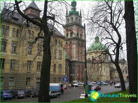 Excursies in Lviv