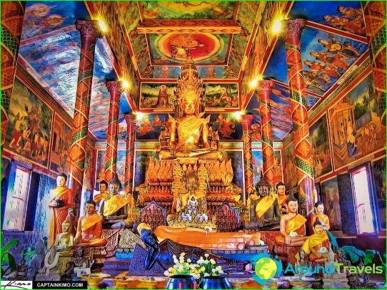Lomat Kambodžassa joulukuussa