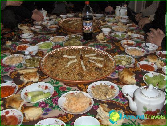 Tadžikistanin perinteinen keittiö