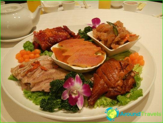 Traditionele keuken van Taiwan