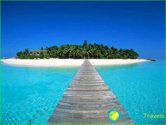 Loma Malediiveilla tammikuussa