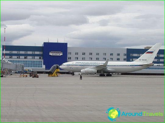 Luchthaven in Anadyr