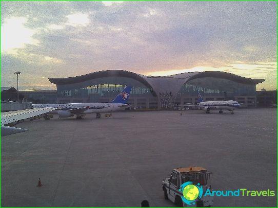 Lentokenttä Urumqissa