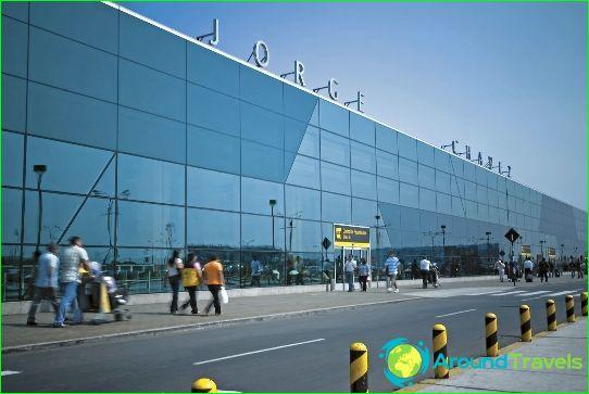 Lentokenttä Limassa