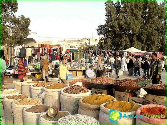 Prijzen in Tunesië