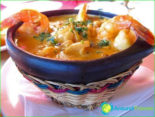 Колумбийската традиционна кухня