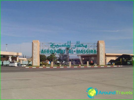 Lentokenttä Agadir