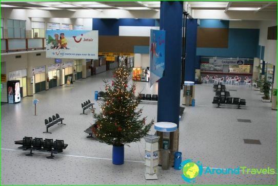 Lentokenttä Bruges