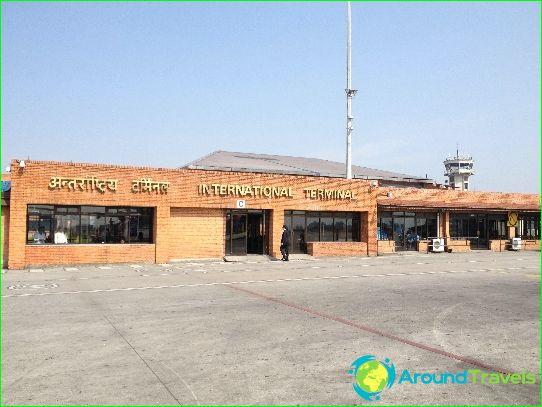 Летище в Катманду