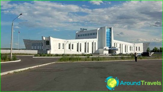Luchthaven in Kyzyl