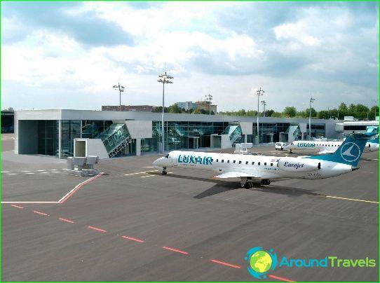 Летище в Люксембург
