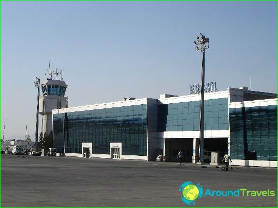Lentokenttä Pohjois-Kyproksessa