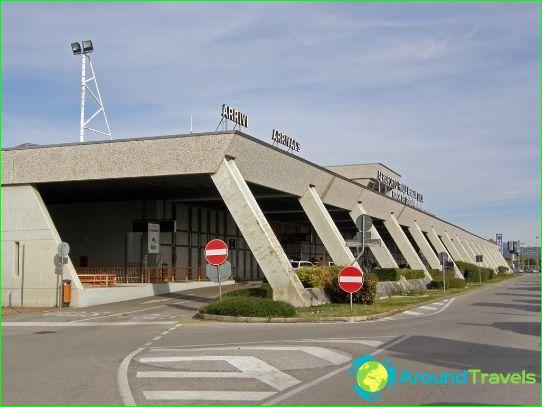 Lentokenttä Trieste