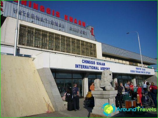 Lentokenttä Ulaanbaatarissa