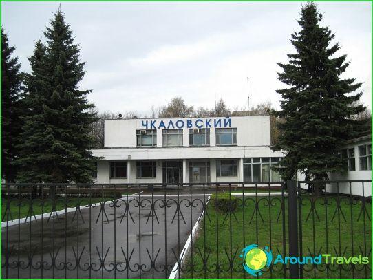 Luchthaven in Schelkovo
