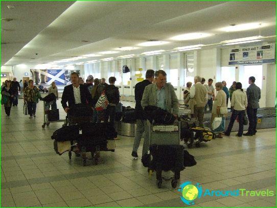 Flygplatser i Skottland