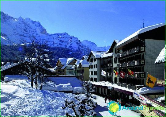 Lomat Sveitsissä tammikuussa