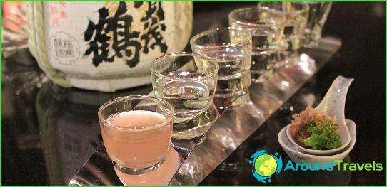 Japanin juomat