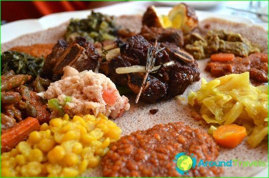 Etiopialainen perinteinen keittiö