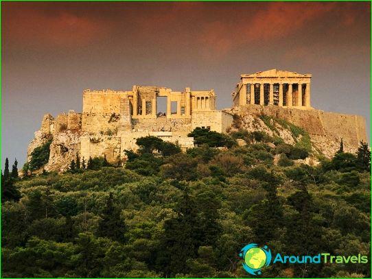 Цени в Атина