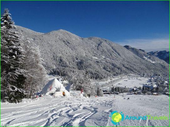 العطل في الجبل الأسود في يناير