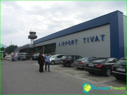 Luchthaven in Budva