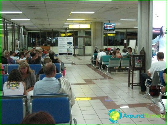 Repülőtér Denpasarban