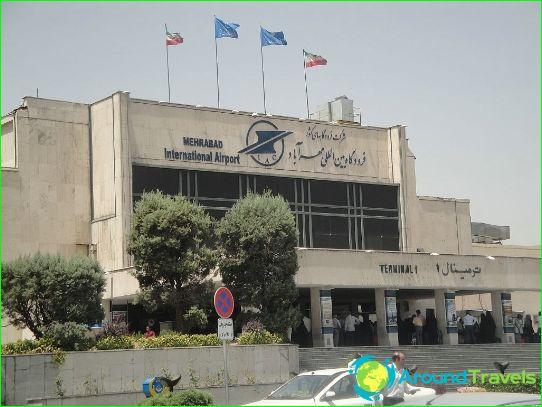 Летище в Техеран